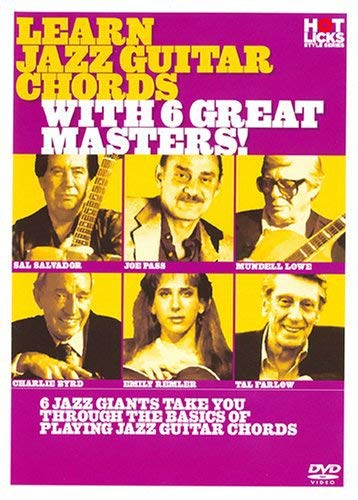 - Learn Jazz Guitar Chords With 6 Great Masters!