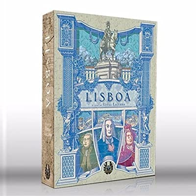 Eagle-Gryphon Games Lisboa Deluxe Edition: by Vital Lacerda: Toys & Games