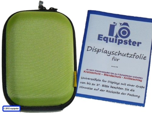 equipster-Panasonic-Lumix-DMC-LF1-Accessory-Set-with-Hard-Case-and-Screen-Protector-Lime-Green