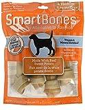 SmartBones SBSP-02757FL Sweet Potatoes Bones for Dogs, 4-Count, Medium