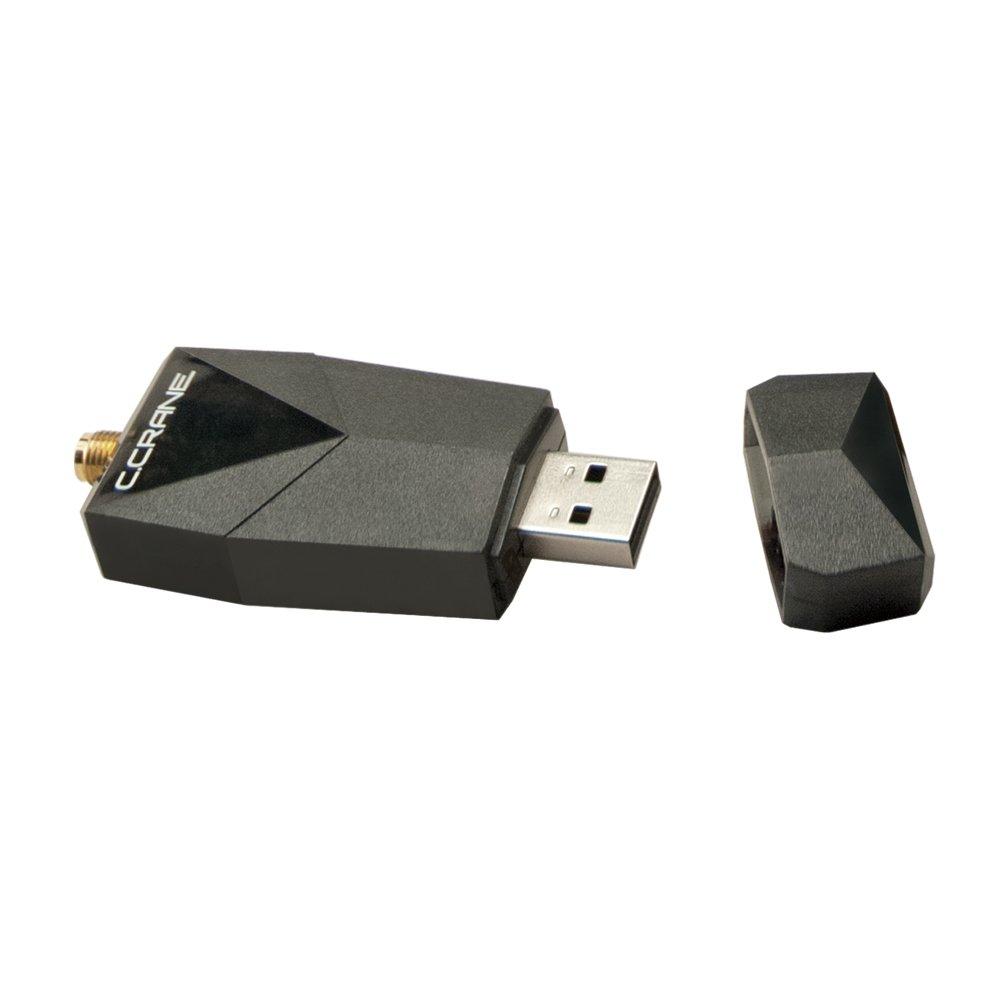 C. Crane Versa USB WiFi Adapter 3 – High Power Long Range 802.11 B G N Wireless Network Adapter by C.Crane (Image #2)