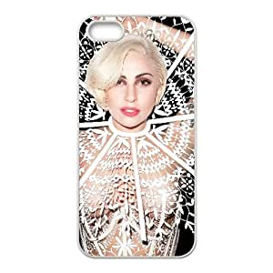 Lady Gaga iPhone 4 4s Cell Phone Case White yyfabd-190254