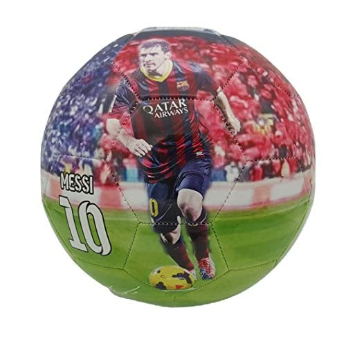iSport Gifts #7 Ronaldo # 10 Messi Kids Soccer Ball ✓ Size 5 for Kids /& Adult ✓ Premium Gift Youth Soccer Ball ✓ Unique Design ✓ Durable Soft Construction