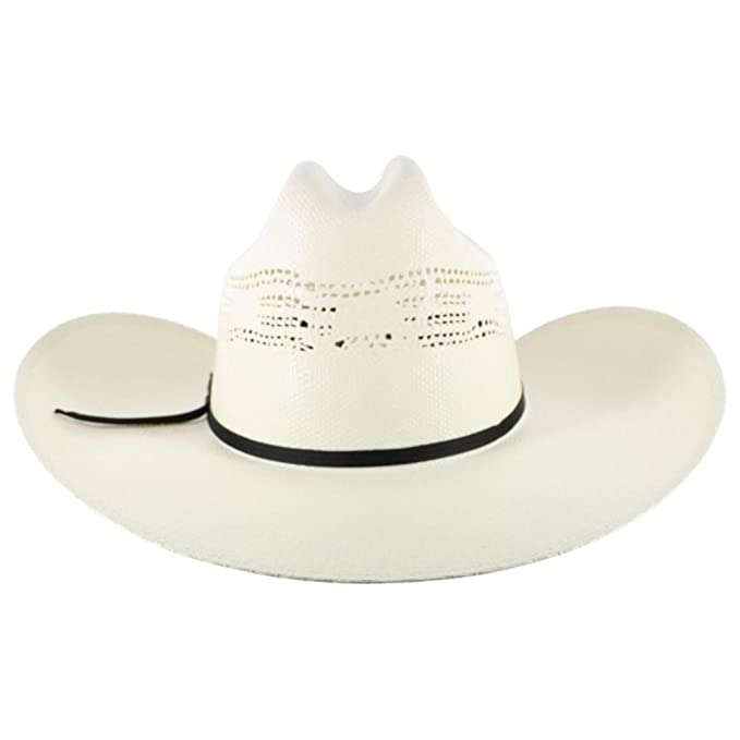 e6904887bcb NEW MHT Master Hatters 20X Heeler Cool Lock Straw Cowboy Hat 7 1 4   Amazon.ca  Clothing   Accessories