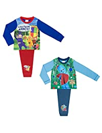 2 Pack Teleubbies and In The Night Garden Boys Pyjamas Sizes 12 months - 4 years
