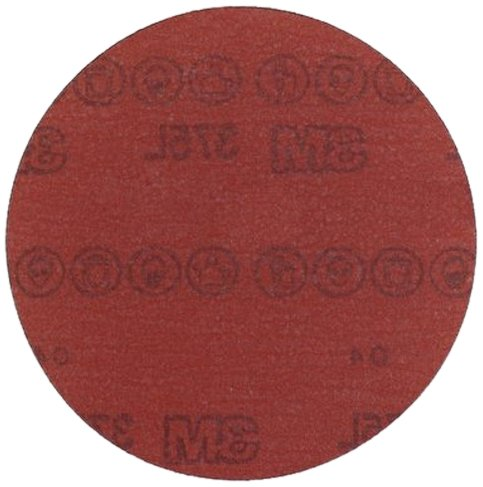 3M Hookit Film Disc 375L, Aluminum Oxide, 6' Diameter, P320 Grade  (Pack of 50) 6 Diameter 051141556642