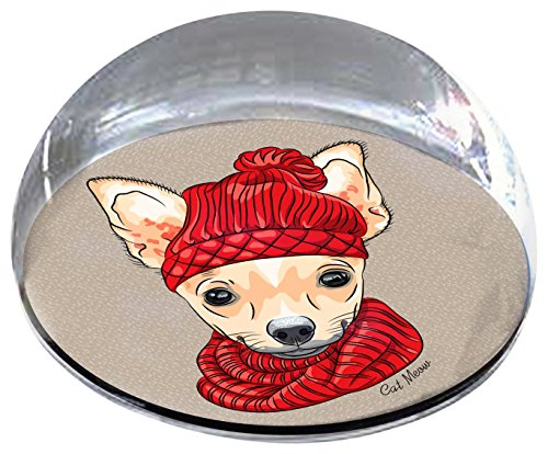 Forever Crystal Winter_Chihuahua Magnet Crystal from Forever Crystal