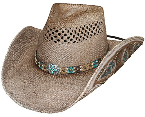 BULLHIDE HATS PLATINUM COLLECTION FROM THE HEART 2836 (EXTRA LARGE)