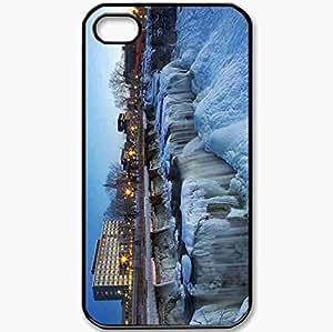 Protective Case Back Cover For iPhone 4 4S Case Canada Ontario Ottawa New Edinburgh Black
