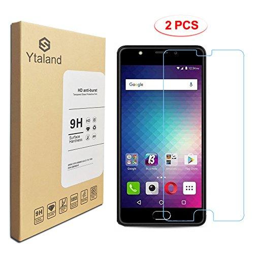 [2 Pack] BLU Life One X2 / L0090UU Screen Protector 5.2 Inch, Tempered Glass Anti-Fingerprints Thin 9H Screen Hardness Screen Protector for BLU Life One X2 / L0090UU