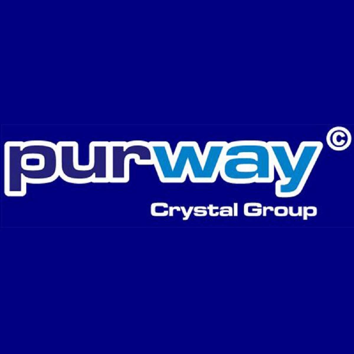 2600 L//h, 10 purway Crystal Group PLA Filtro de carb/ón activo granulado