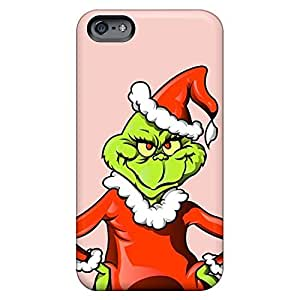 Compatible phone carrying case cover pictures Ultra iphone 5c - the grinch christmas illustration