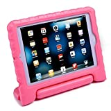 HDE iPad Mini Kids Case Shockproof Handle Stand Cover for Apple iPad Mini 2/3 Retina (Light Pink)
