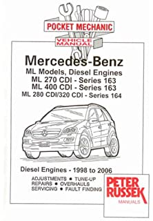 Pocket Mechanic for Mercedes-Benz Vito and Viano, Series W639, 2148 C.C. CDI
