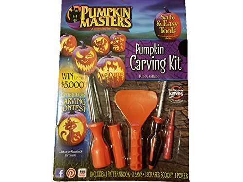 Pumpkin Masters America's Favorite Halloween Pumpkin Carving Kit 105027 -