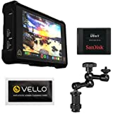 Atomos Shogun Inferno 7 Inch Touchscreen Recording Camera Monitor Bundle With Sandisk 240gb Ultra Ii Internal Solid State Drive Pearstone 75 Articulating Arm
