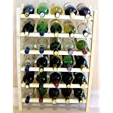 Vinland 30 Bottle Wine Rack, 5 wide by 6 high