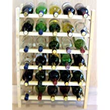 Vinland 30 Bottle Wine Rack, 5 wide by 6 high