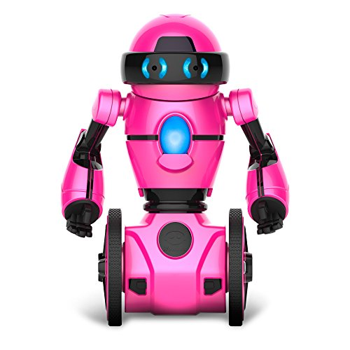 WowWee - MiP The Toy Robot - Deluxe (Includes Recharge Pack) - Metallic Pink