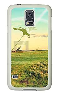 Samsung S5 case stylish Abstract Wednesday PC White Custom Samsung Galaxy S5 Case Cover
