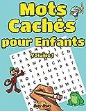 Mots Cachés pour Enfants Volume 1: 50 Grilles de Mots Mêlés   Gros Caractères