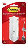 Command Wire Hook, Large TMH8S, White, 2-Hook