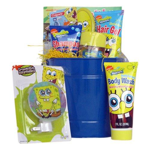 Birthday Gift For Kids Spongebob Grooming Basket