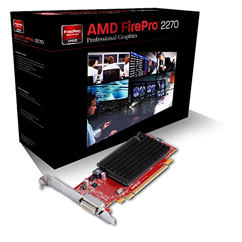 (Sapphire AMD FirePro 2270 512MB DDR3 Dual DVI-I PCI-Express X16 Graphics Card Graphics Cards 100-505837 )