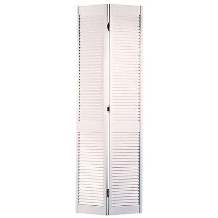 Charmant Masonite 36 In. X 80 In., Interior Bifold Door In White, Louver