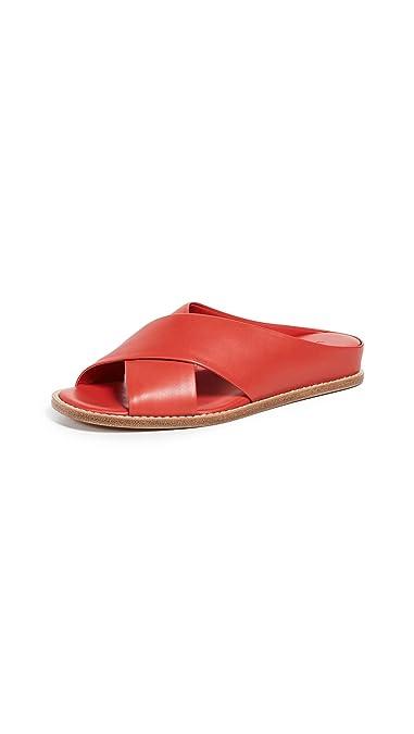 48f8bc03be5 Amazon.com  Vince Women s Fairley Slide Sandals  Shoes