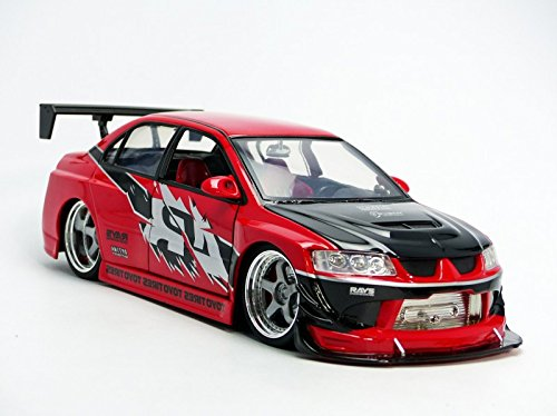 Amazon.com: Jada Fast & Furious 7 Brian's Sean's Mitsubishi Lancer