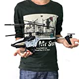 RC Helicopter - UltraZhyyne(TM)New 2.4GHz 4CH R/C Remote Control RC 45CM LED Gyro Big Helicopter Gifts Tonsee