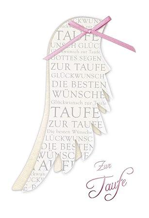 Taufkarte Mädchen Karte Taufe Karte Zur Taufe Glückwunschkarte Zur Taufe Karte Taufe Im Set Karte In Folie Karte Ohne Innentext Din A6