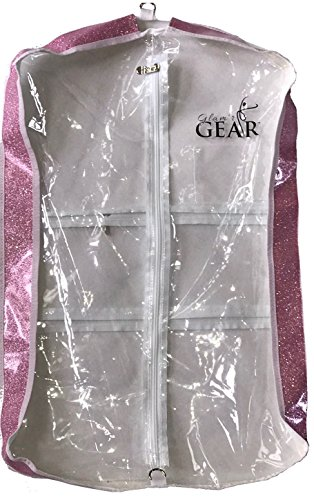 Bags Dream Duffel Costume (NEW 5-PACK Glam'r Gear Garment Bag, 28-in Long, 2.5-in Wide Pink)