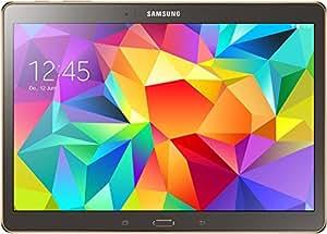 """Samsung Galaxy Tab S (T800) 10.5"""" - Tablet de 10.5"""" (WiFi + Bluetooth, 16 GB, 3 GB RAM, Android), titanio/bronce (importado de Alemania)"""