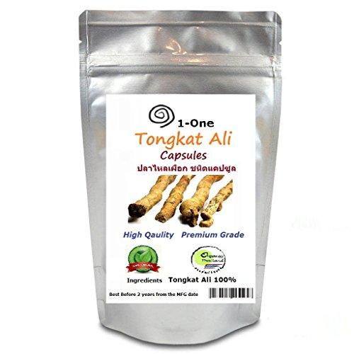 Tongkat Ali eurycoma Longifolia 500 mg 500 Caps Capsules tongkat overload -100% natural Testosterone Booster From Thailand by Tongkat ali Powder