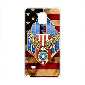 Happy American Flag Custom Protective Hard Phone Cae For Samsung Galaxy Note4 Kimberly Kurzendoerfer