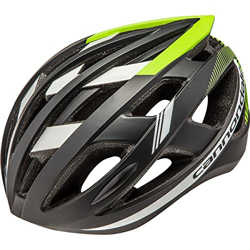 Cannondale 2017 CAAD Road Bicycle Helmet (Black/Green - L/XL) (Bicycle Road Cannondale)