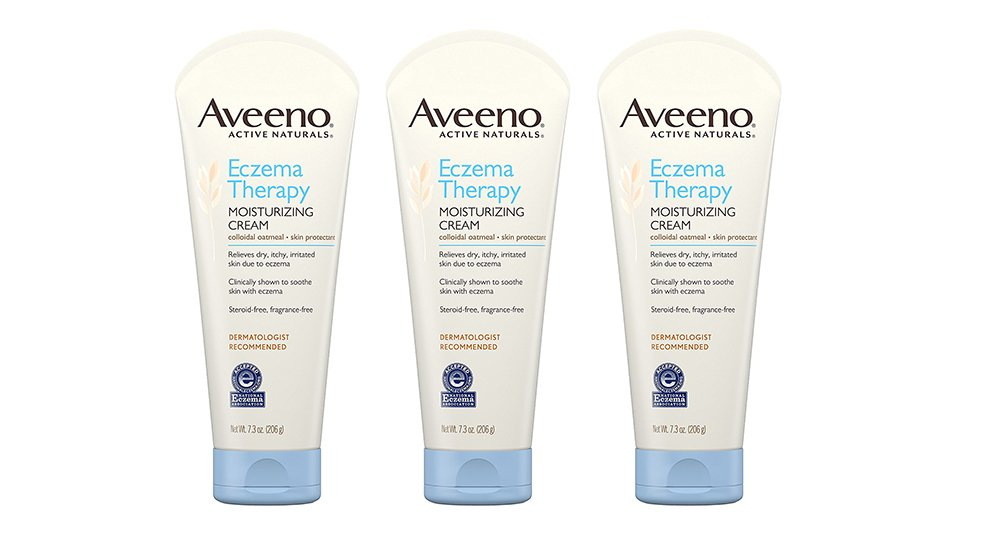 Aveeno Eczema cvMmg Therapy, Moisturizing Cream, 7.3 Ounce (3 Pack)