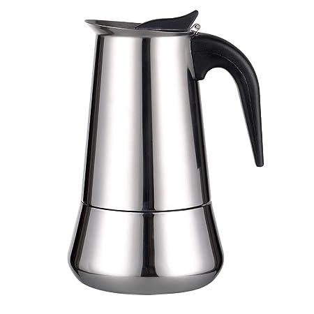 AllRight Acero Inoxidable Cafetera 6 Tazas Espresso Maker – Jarra ...