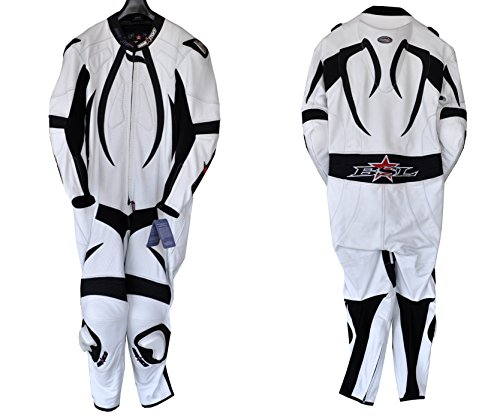Motorcycle Full Body Leather One piece Race Suit - Size XL