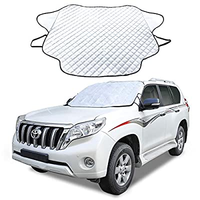 Cosyzone Car Windshield Sun Shade Sunshade Blocks UV Rays Sun Visor Protector, to Keep Your Vehicle Cool and Damage Free, Fits for Most Vehicle SUV: Automotive