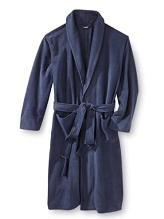 best website top-rated fashion select for clearance Joe Boxer Mens Plush Navy Blue Robe Housecoat Bath Robe