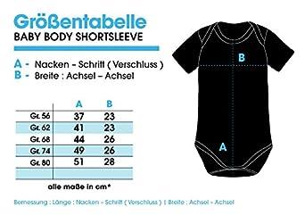 EZYshirt/® I`m a Cowboy American Football Baby Body Kurzarm Bio Baumwolle