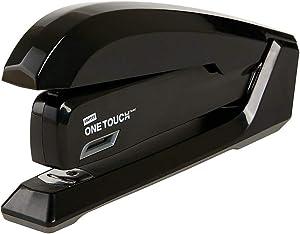 Staples 1798848 One-Touch Desktop Stapler Full-Strip Capacity Black (44436)