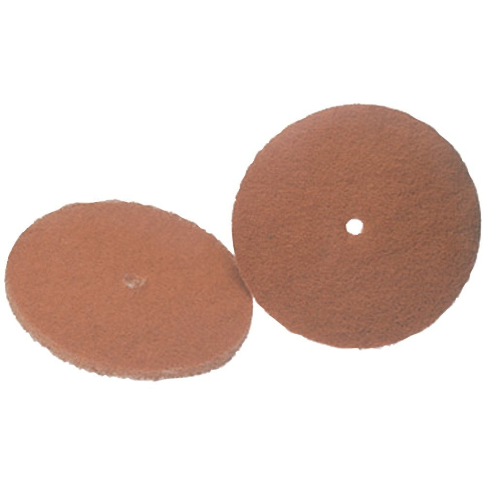 Koblenz Genuine Tan Cleaning and Polishing Pads Pack of Two Pads and Two Retainers 45-0105-2 19410-2253a