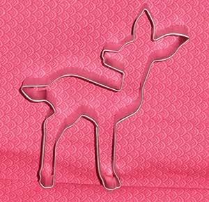 "Fawn,Deer,Metal Cookie Cutter, 4.5"".Woods, Bambi,C/K,Disney"