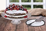 Durable Elegant Clear Glass Cake Serving Stand Plate Give Your Delicious Confections The Presentation They Deserve