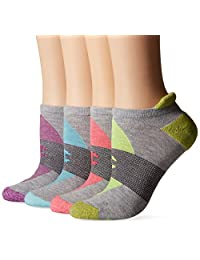 Champion Women's Double Dry 4-Pack Performance Heel Shield Socks
