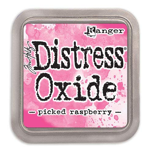 Ranger Tim Holtz Distress Oxides Ink Pads Picked Raspberry (12 Pack)
